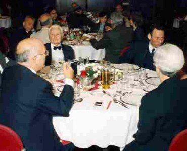 Stephane Du Chateau during banquet in Forum Hotel He passed away in 1999