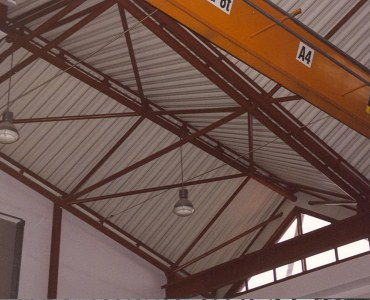 Lightweight roof in laboratory of Civil Engineering Faculty at Rzeszów University of Technology